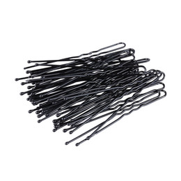 Thinning hair bangs online shopping - 300Pcs set U Shape Bobby Pins Black Hair Clips Women Hairpins No Slip Grip Thin Bobby Pins Hold Back Bangs Reusable Hair Pins