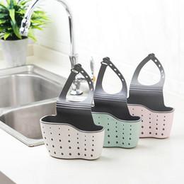 2643 creative sink hanging bag kitchen shelf tap sink sink collection basket hanging basket sponge rack on Sale