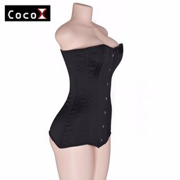 3fa3df438a4 Double Steel Boned Corsets UK - 26 Double Steel Boned Long Line Corset  Overbust Long Torso