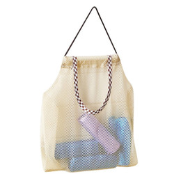 Hanging Storage Bag Breathable Reusable Foldable Mesh Pouches Rope Bags Fruit Vegetable Organizer For Home Kitchen from cross shoulder cell phone bags suppliers