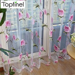 $enCountryForm.capitalKeyWord NZ - Top Finel 2016 Modern Floral Tulle Window Treatments Sheer Curtains for Living Room the Bedroom Kitchen Panel Drapes and Blinds