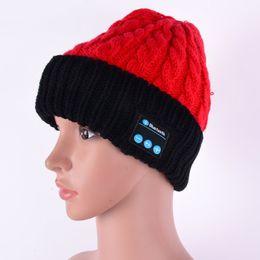 Discount warm audio - 2016 Fashional Warm Bluetooth Hat Wireless Speaker Receiver Audio Music Speaker Headphone Cap