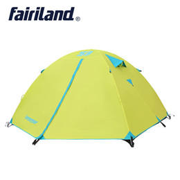 Discount quick tents - Camping Tent for 3 season 3 persons double layer storm proof Waterproof outdoor hiking camping traveling Winter tent