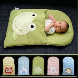 baby sleep vest 2019 - frog newborn sleeping bag sleeping bag winter stroller bed swaddle blanket wrap bedding cute baby cheap baby sleep vest