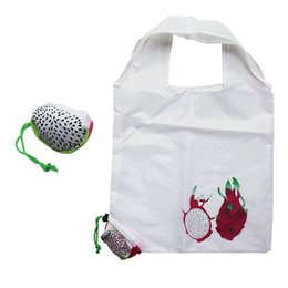 fruits foldable bag Australia - 2017 Fashion foldable shopping bag Tote folding pouch handbags Large-capacity storage bags reusable grocery bags fruit eco bag