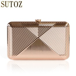 $enCountryForm.capitalKeyWord NZ - Luxury Handbags Women Bags Designer Metallic Box Clutch Female Evening Bag Ladies Party Bag Chain Banquet Bags Messenger BA492 Y18103004