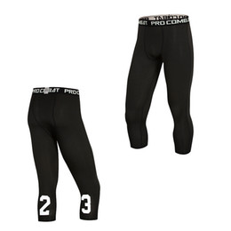 Compression Basketball Tight Pants New 2018 Summer ports Tights Pants Elastic Quick Dry Men Fitness Running Leggings Plus Size