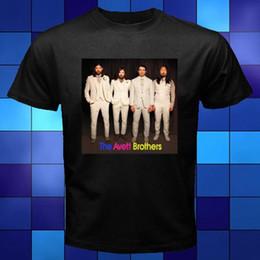Man S Clothes Australia - The Avett Brothers American Folk Rock Band Black T-Shirt Size S to 3XL 2018 Short Sleeve Cotton T Shirts Man Clothing