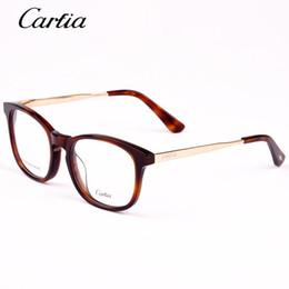 Myopia Glasses Mens Australia - Carfia Brand Designer Reading glass frames mens 5123 Fashion computer myopia prescription glasses frame for women