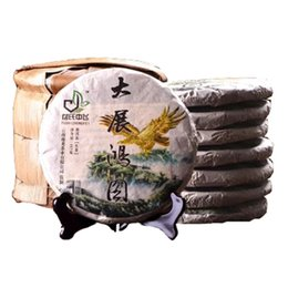 tea sub UK - Promotion 357g Yunnan Pu'er Raw Tea Grand Plans Ancient Trees Knot Pu'er Tea Yunnan Seven Sub-cake Old Trees