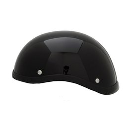 Xxl Motorcycle Half Helmets Australia - Half bike helmet motorcycle mountain bicycle bike helmet USA duck trail eagle open face vintage hill climbing for scooter
