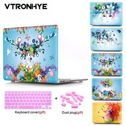 $enCountryForm.capitalKeyWord Australia - VTRONHYE laptop Case For Macbook Air Pro Retina 11 12 13 15 inch For Macbook Pro 13 15'' with Touch Bar+Keyboard cover+Dust plug