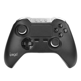 $enCountryForm.capitalKeyWord UK - iPega PG-9069 PG 9069 Wireless Gamepad Bluetooth Touchpad Game Controller for Android iOS Tablet PCSmartphone Dual Motor Holder