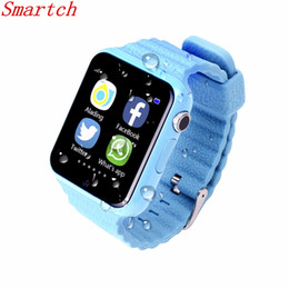 facebook smart watch 2019 - Smartch GPS Smart Watch Kids Waterproof Watch V7K with Camera facebook SOS Call Location DevicerTracker Anti-Lost Monito