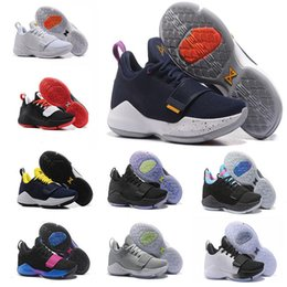 571842aaa68f 2018 Paul George PG1 Shining Ferocity Dream Off Hook Zoom Low Men  Basketball Shoes 1s Los Angeles Home Glacier Grey Ivory Sports shoes discount  men black ...