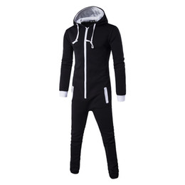 46da9a36062 Autumn Harajuku Gothic Rompers mens Hip Hop Cosplay Jumpsuit Harem Cargo Overalls  Casual Long Bibs Pants Hoodies One-piece suit