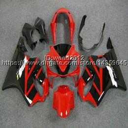 Custom Body Honda Cbr Australia - 5Gifts+Custom Injection mold red black motorcycle hull for HONDA CBR 600F4i 2004 2005 2006 2007 CBR600 F4i 04-07 ABS Fairings body kit