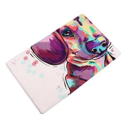 Chinese  3D Printed Bathroom Memory Foam Rug Kit Cute Animal Home Non Slip Door Floor Mats Hall Rugs Kitchen Bathroom Carpet Decor manufacturers