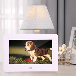 $enCountryForm.capitalKeyWord NZ - Digital Photo Frame 7 inch TFT display Screen 800X480 Clock Music Video Player with Remote Control with built-in speakers