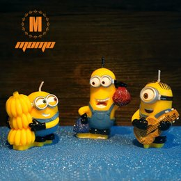 3D Cute Cartoon Character Cake Candle Birthday Candles Backery Decoration Sparkler Wedding Party Supplies