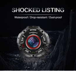Electronic Shocks NZ - Shock-proof Sport Camera waterproof IP68 High Quality drop-resistant 8.0Mega Support WIFI OEM and ODM factory