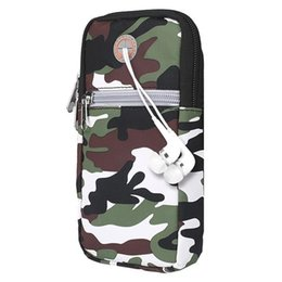 Discount 5.5 smartphones - For  For  Smartphones Universal 5.5 inch or Under Phone Zipper Multi-functional Sport Arm Case with Earphone Hole