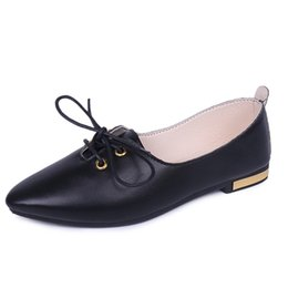 Discount Flat Leather School Shoes Flat Leather School Shoes 2018