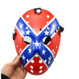 $enCountryForm.capitalKeyWord Australia - Halloween Jason Mask Full Face Antique Killer Mask 13th Prop Horror Hockey Costume Cosplay Masquerade Prop masks Festival Party Supplies