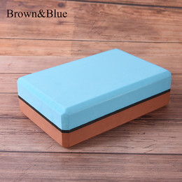 $enCountryForm.capitalKeyWord NZ - 5 Colors EVA Yoga Blocks Tool Bricks Foaming Foam Home Fitness Exercise Health Gym Practice