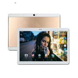 tablet pc 4g sim phone call NZ - Dual SIM 64GB ROM Android 7.0 10.1 inch Touch Screen 3G 4G LTe tablet pc Phone Call 10 10''
