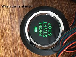 Discount engine series - EASYGUARD Replacement push engine start stop button for ec002 series (P1 style) car