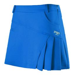 dc95ada4b4 Mujeres Polo plisado Golf Falda corta Vestido Mujeres falda de secado  rápido Ropa deportiva Bádminton Short Tennis Faldas XS-XL AA60474