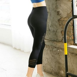 Super Tight Yoga Pants NZ - CALOFE Asian Size Super Stretchy Gym Tights Energy Seamless Control Yoga Pants High Waist Sport Leggings Running Pants Women