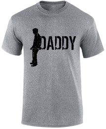 Funny Holiday Gifts NZ - Daddy Father's Day Slogan Holiday Men T-shirt Funny free shipping Unisex Casual gift