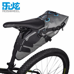 Dark Cycles NZ - Roswheel Attack Series 131457 7L 100% Waterproof Cycling Bicycle Bags Bike Tail Saddle Bags Seat Packs Storage Pouch Carrier