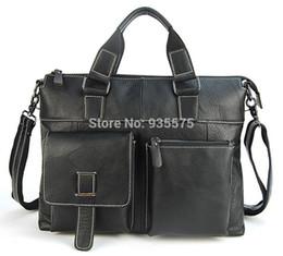 $enCountryForm.capitalKeyWord Canada - Men 100% Vintage Genuine Real Leather Laptop Briefcase Messenger Cross Body Shoulder Bag Casual Business Tote Work Satchel