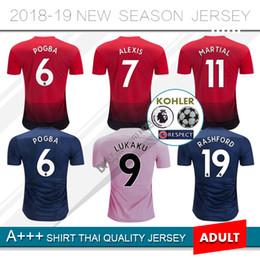 49ers jersey 2019 -  6 POGBA Home red Soccer Jersey 18 19  9 LUKAKU 562638feb72de