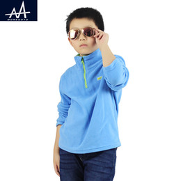 Boy Jerseys NZ - Autumn Winter Boys Soft Fur Coat Fleece Jacket Clothes 9-12Y Children Garcon Sweatshirts Jersey Lightweight Teen Boys Clothes