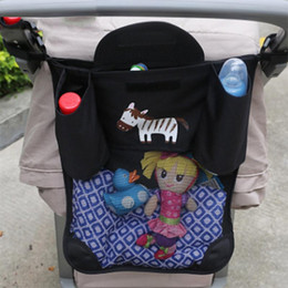 Wheelchair Stroller Canada - Bag For Strollers Wheelchairs Baby Pram Stroller Storage Bag Stroller Car Seat Diapers Bottles Organizer Bag Accessories