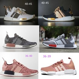 Table Tracks online shopping - nmd r1 Discount Cheap pink red gray NMD Runner R1 Primeknit PK Low Men s Women s shoes Classic Fashion Sport track shoes