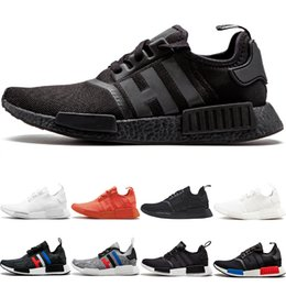 $enCountryForm.capitalKeyWord Canada - Wholesale NMD R1 Running Shoes OG Japan Triple black White Solar Red Oreo Cheap Men Women Designer Trainer Sport Sneaker Size 5-11