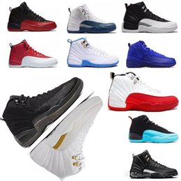 b866158c4d02 High Quality 12 12s OVO White Gym Red Dark Grey Basketball Shoes Men Women  Taxi Blue Suede Flu Game CNY Sneakers With Box