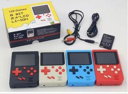 4.3 portable game console online shopping - CoolBaby Portable Retro Mini Handheld Game Console BOX ColorS LCD Game Player for FC Game free DHL