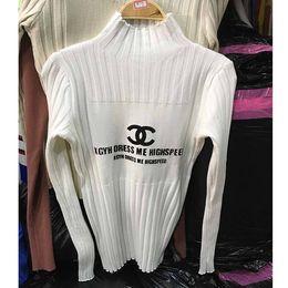 Marca de lujo O-cuello del suéter de las mujeres de punto de cachemira de invierno Femme Jumpers Louis manga larga caliente suave suéteres de las mujeres dg jerseys canal