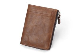 $enCountryForm.capitalKeyWord NZ - Hot-sale Korean men's fashion casual wallet RFID zipper multi-card pocket change folder cross-border special offer Free Shipping