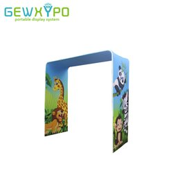 $enCountryForm.capitalKeyWord Australia - 8ft Width Exhibition Booth Tension Fabric Advertising Banner Square Arch Display Stand With Printing,Portable Easy Fabric System