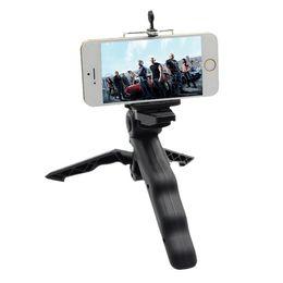$enCountryForm.capitalKeyWord Australia - PULUZ Grip Folding Tripod Mount with Adapter Screws for Gopro SJCAM Xiaomi Yi sport Action Camera