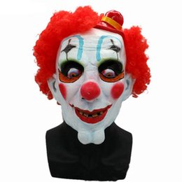$enCountryForm.capitalKeyWord NZ - Hanzi_masks NEW Joker Clown Costume Mask Creepy Evil Scary Halloween Clown Mask Adult Ghost Festive Party Mask Supplies Decoration