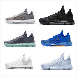 online store 6d777 d3367 ... ebay 2018 new zoom kd 10 anniversary oreo red men basketball shoes kd  10 low kevin