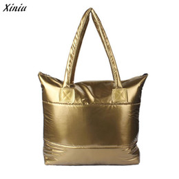$enCountryForm.capitalKeyWord NZ - Fashion handbag Women Messenger Bags Solid Metallic color Waterproof Shoulder Bag Bolsa Feminina Grande bag#5